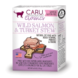 Classics Wild Salmon & Turkey Stew for Cats