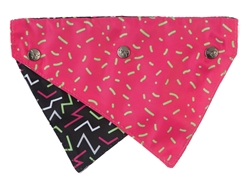 Juicy - Reversible Collar Bandana with Studs