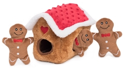 Zippy Paws - Burrow Gingerbread House