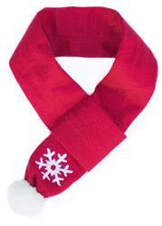 Zippy Paws - Snowflake Scarf