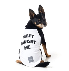 Yeezy Taught Me Dog T-Shirt