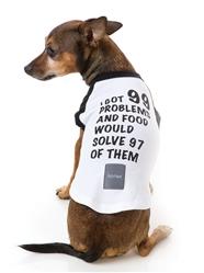 99 Promblems Dog T-Shirt