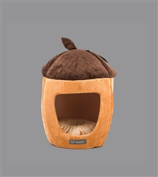 CHESTNUT SHAPE MICRO FLEES PET BED
