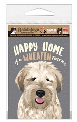 Home Is Where Your Wheaten Is Magnet