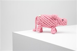 Dolly Pink Sheep Rope Toy