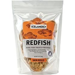 Icelandic+ Redfish Skin Rolls 3oz Bag