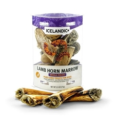 Icelandic+ Lamb Marrow - Whole Small Pieces (Count 12) 2.5oz Tube