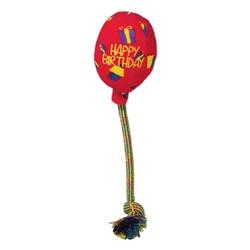 KONG Occasions Birthday Balloon Plush Dog Toy