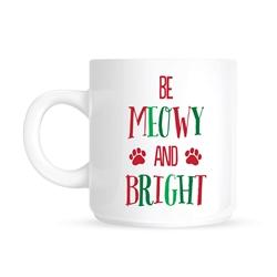 Pearhead - Be Meowy and Bright Mug