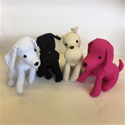 "MANNEQUIN DOGS (MEASURES 8"" FROM BASE OF NECK TO BASE OF TAIL)"