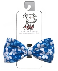 Huxley & Kent - Blue Hibiscus Bow Tie