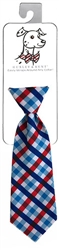 Huxley & Kent - Picnic Check Long Tie