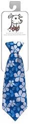 Huxley & Kent - Blue Hibiscus Long Tie