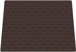 Amazing Microfiber Mat - Brown Filligree