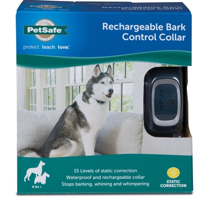 Rechargeable Bark Control Collar by PetSafe