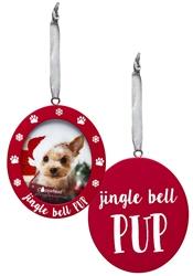 Pearhead- Jingle Bell Pup Photo Ornament