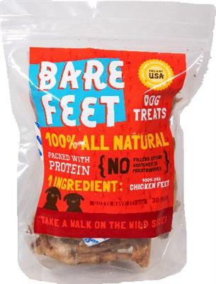 30-pack Bare Feet Chicken Feet Packaged Treats