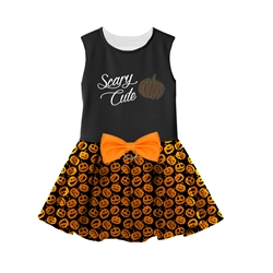 Halloween Girls Harness Dress - Scary Cute