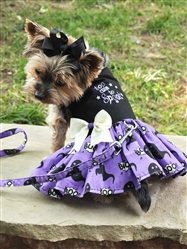Halloween Girls Harness Dress - Too Cute To Spook