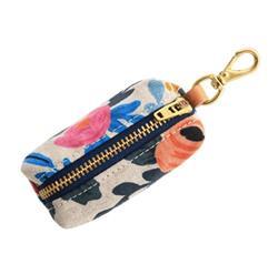 Rosa Floral Natural Waste Bag Holder