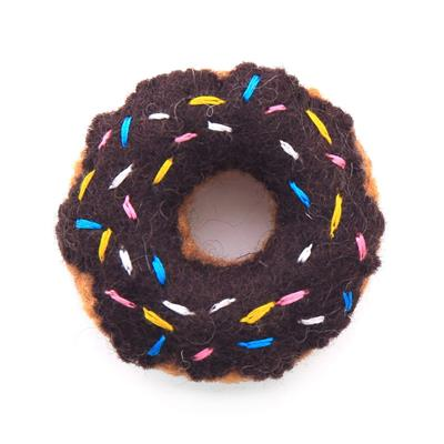 Chocolate Donut Cat Toy