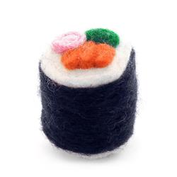 Sushi Cat Toy,  California Roll
