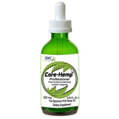NWC Naturals Core-Hemp Oil Supplement for Dogs and Cats, 500 mg, 0.83oz