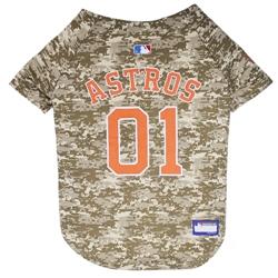 Houston Astros Dog Jersey  -  CAMO