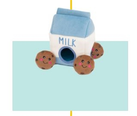 Zippy Burrow - Milk and Cookies