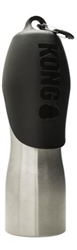 Kong 25 oz Stainless Steel Dog Water Bottle - Black