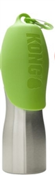 Kong 25 oz Stainless Steel Dog Water Bottle - Green
