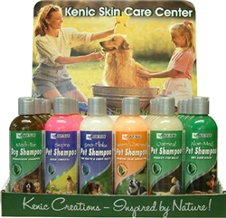 KENIC Shampoo Display