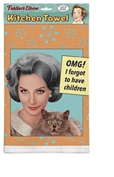 Forgot Children Kitchen Towel