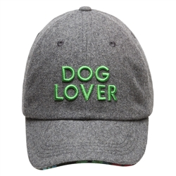 BARKOLOGY® DOG LOVER - GRAY FLANNEL