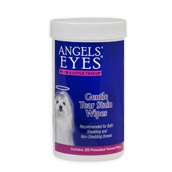 Angels' Eyes Gentle Tear Stain Wipes 200 ct