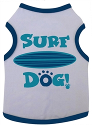 Surf Dog - Tank - White/Navy