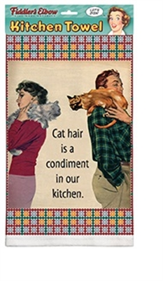 Cat Hair Kitchen Towel