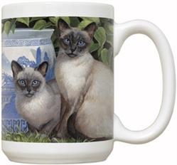 China Blue 15oz Mug