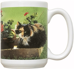Spunky Cat 15oz Mug
