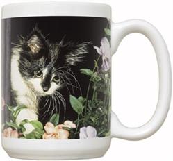 First Spring Cat 15oz Mug