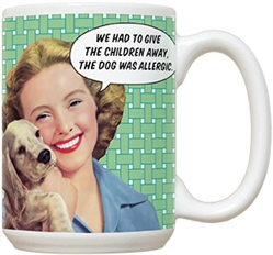 Allergic to Children 15oz Mug