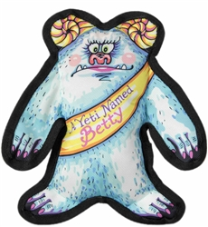 "A Yeti Named Betty Dog Toy - 11"" Wild Woodies"