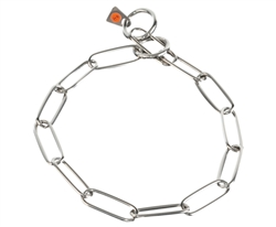 Herm Sprenger - Long Link Fur Saver Collar - Stainless Steel
