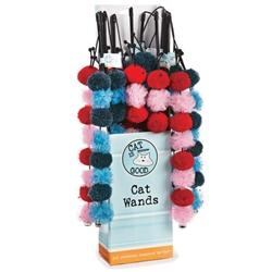 Cat is Good 12-Piece Caterpillar Wand Display