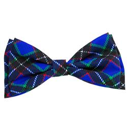 Blueberry Plaid Bow Tie by Huxley & Kent