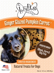 Ginger Glazed Pumpkin Carrot