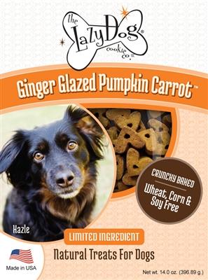 Ginger Glazed Pumpkin Carrot