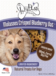 Molasses Crisped Blueberry Oat