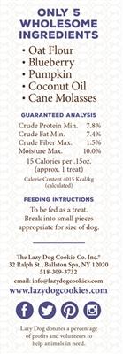 Molasses Crisped Blueberry Oat