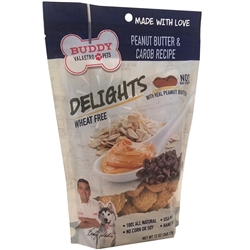 6 Count - Peanut Butter & Carob Recipe (12 oz bags)